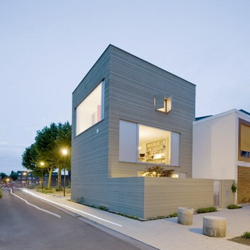 1 stripe house by gaaga studio Stripe House by GAAGA Studio