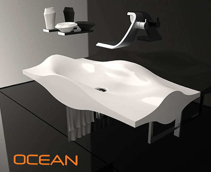 1 luxury ocean sink Luxury Ocean Sink