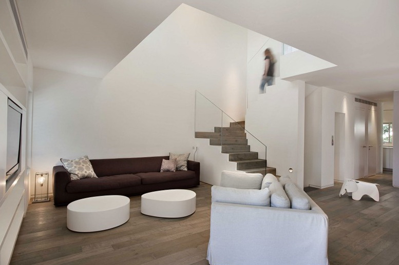 1 townhouse tel aviv by levychamizer architects Townhouse Tel Aviv by Levy:Chamizer Architects