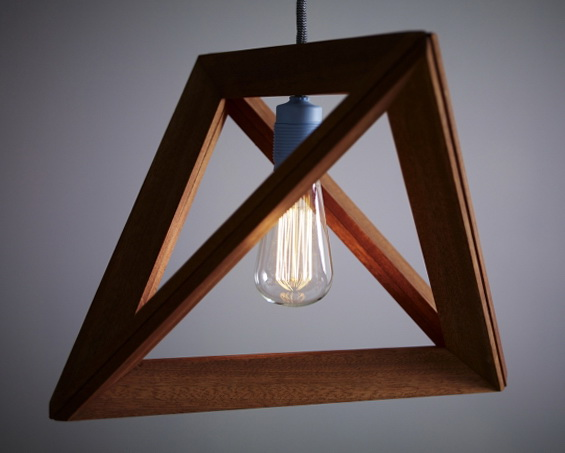 1 wood pendant lamps by herr mandel Wood Pendant Lamps by Herr Mandel