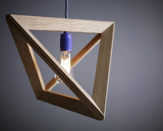 4 wood pendant lamps by herr mandel Wood Pendant Lamps by Herr Mandel