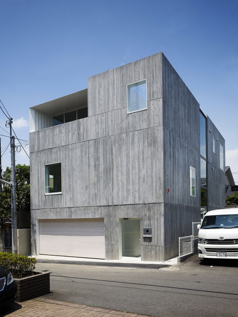 1 takanawa house by o f d a Takanawa House by O.F.D.A.