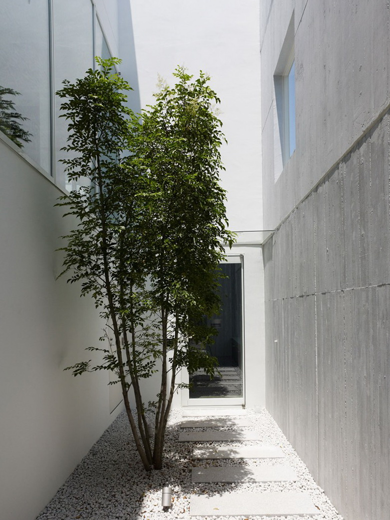 Takanawa house by o f d a home interior design kitchen and