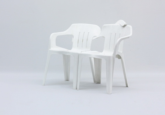 4 monobloc chair by bert loschner Monobloc Chair by Bert Loschner