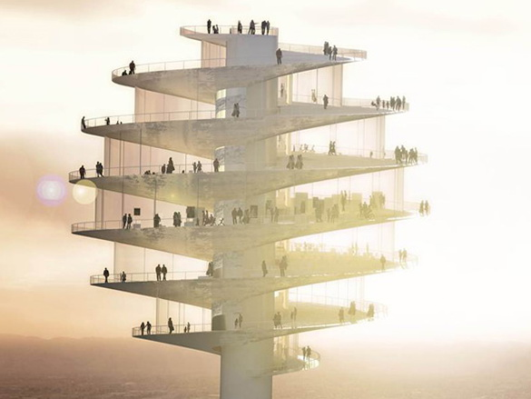 1 phoenix observation tower by big architects Phoenix Observation Tower by BIG Architects