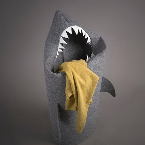 Shark Hamper by Jolanta Uczarczyk