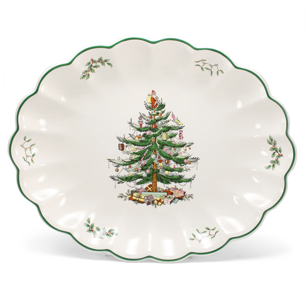 Holiday dinnerware