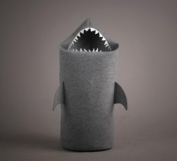 3 shark hamper by jolanta uczarczyk Shark Hamper by Jolanta Uczarczyk