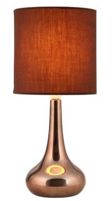 Richmond Touch Lamp Chocolate Choosing the right living room lighting