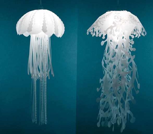 3-jelly-fish-lamps | Home Interior Design, Kitchen and Bathroom ...