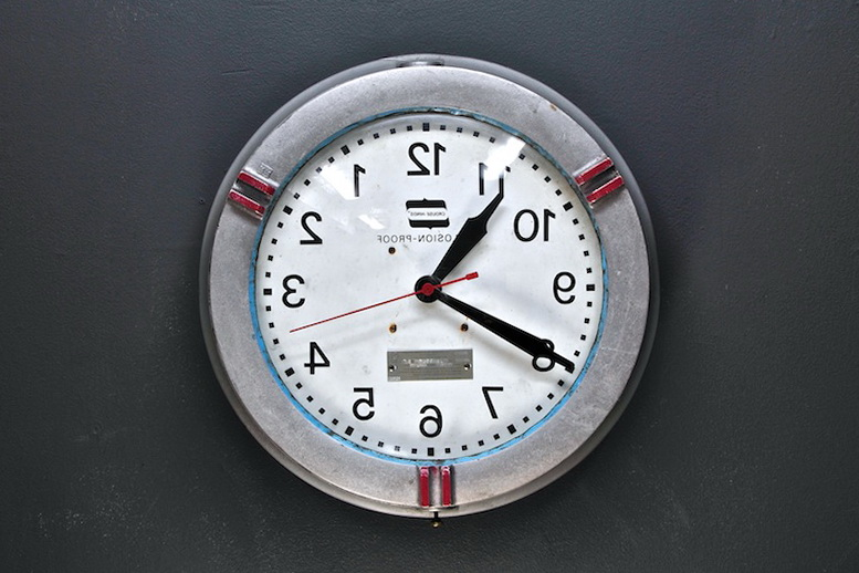 3 wall clock Vintage Industrial Mechanics Clock