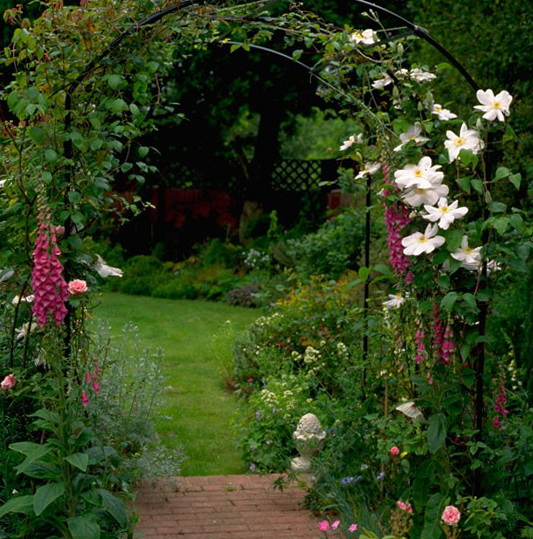 Garden entrance design ideas perfect home and garden design for Best house designs with garden