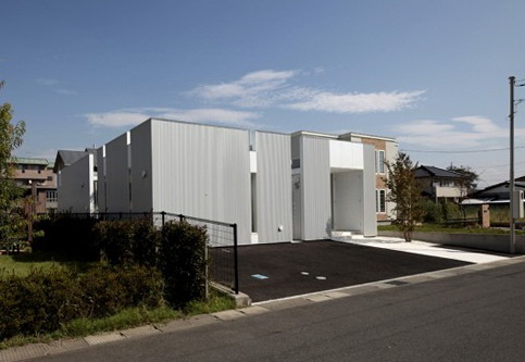 4 diamond house by masao yahagi Diamond House by Masao Yahagi Architects in Japan