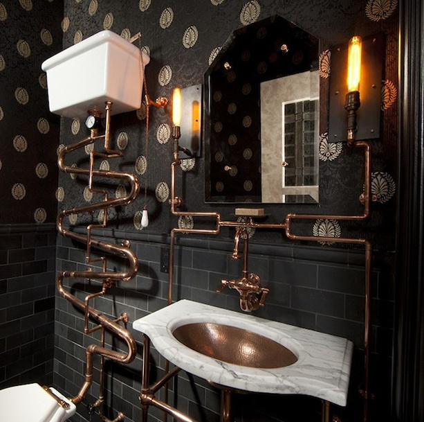 Steampunk Interior Design Ideas MEMEs