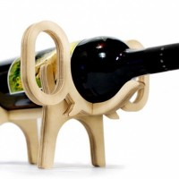 "Wine Bottle Holders ""Animal's Bone"""