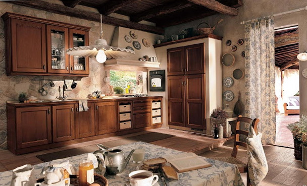 Provence Style Kitchen Design