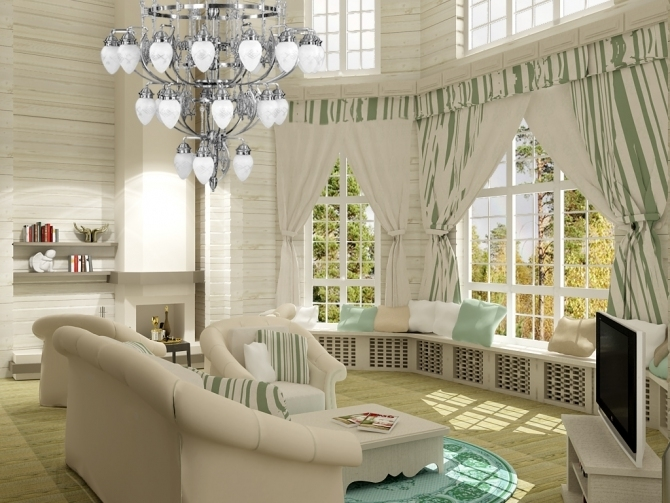 1 10 luxurious living rooms country style - Most Luxurious Living Rooms