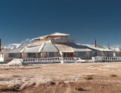 Stunning hotel made ​​of salt in Bolivia