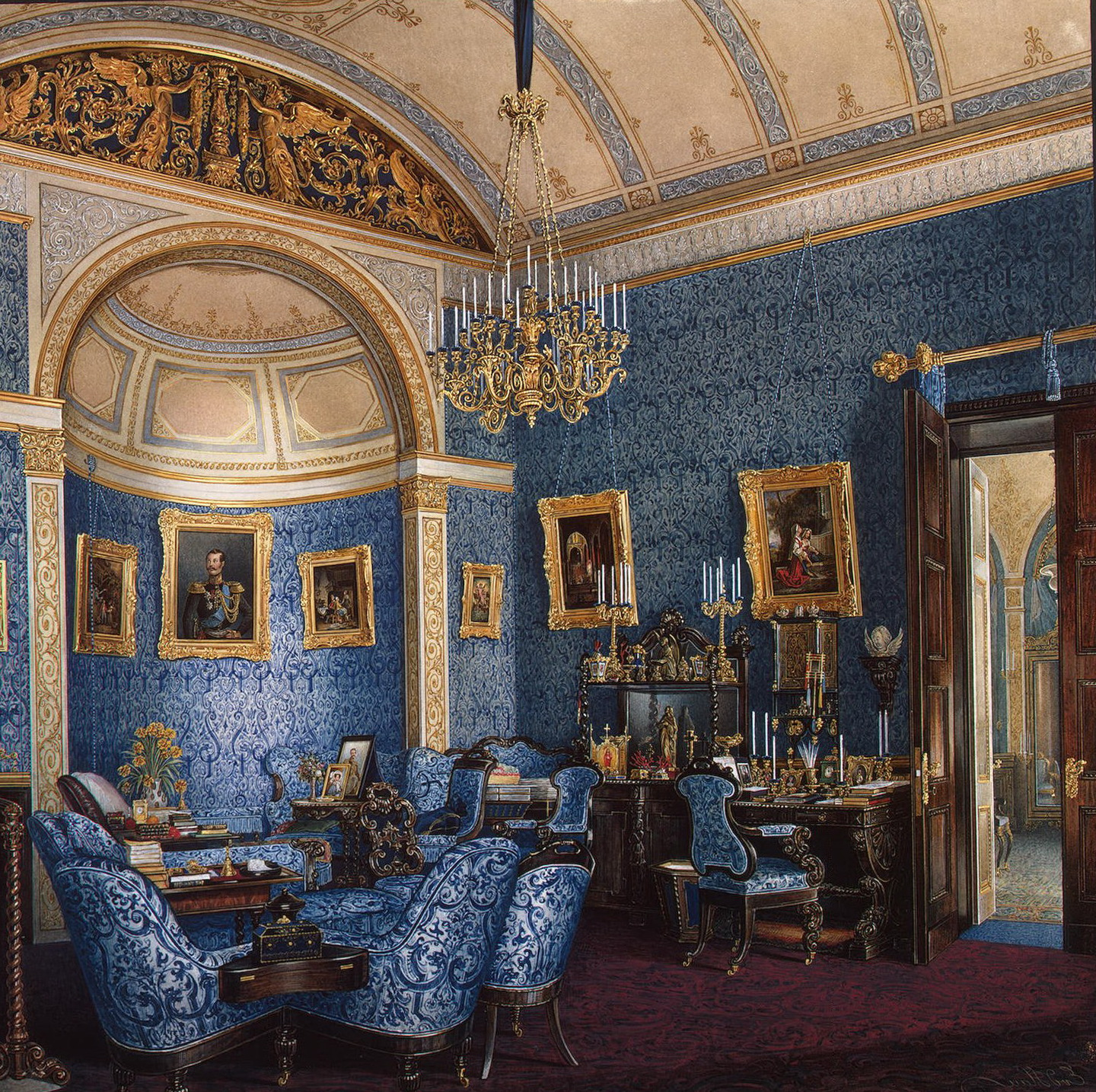 Empire Style In The Interior