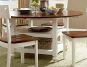 The ideas of dining tables for a small kitchen