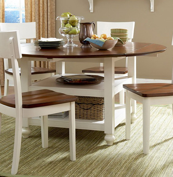 Kitchen Furniture: The Ideas Of Dining Tables For A Small Kitchen
