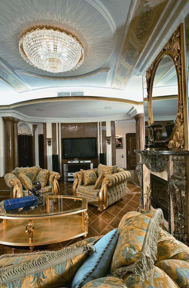 Empire Style In The Interior Home Interior Design