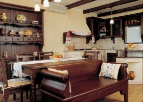 1-kitchen in the style of Provence