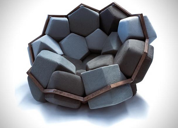 Modular Quartz Armchair By Ctrol Zak And David Barsaghi