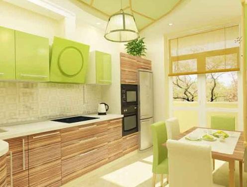 The design soft green color in the interior | Home Interior Design ...