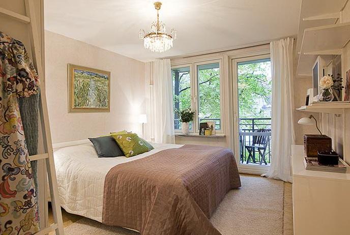 10-second bedroom