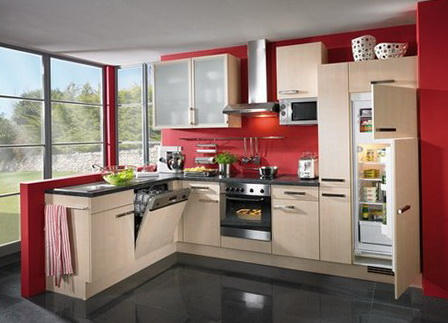 Excellent Kitchen Color Ideas Red Gallery - Exterior ideas 3D - gaml ...