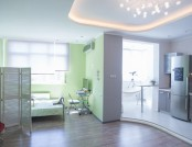 Airy and Tender Studio Apartment Designed with Meditation in Mind and Equipped with a Hammock in the...