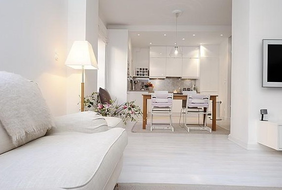 Do It Yourself Home Design: Snow-white Scandinavian Style In The Interior