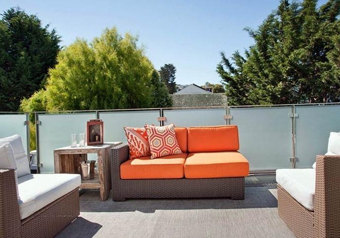2-orange sofa
