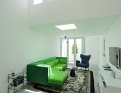 The Modern apartment in the Islamic style decor