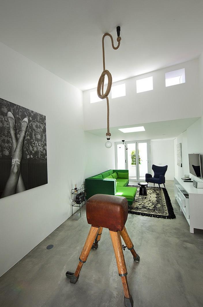 3-Lamp - rope