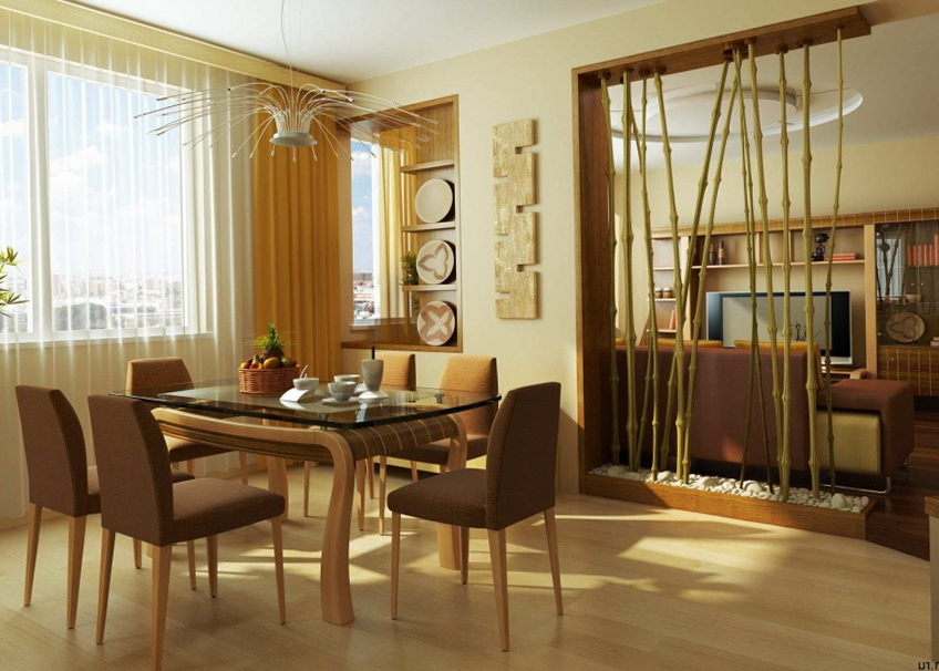 7-bamboo in the interior