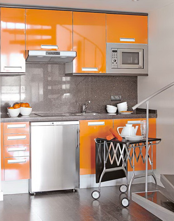 7-orange kitchen