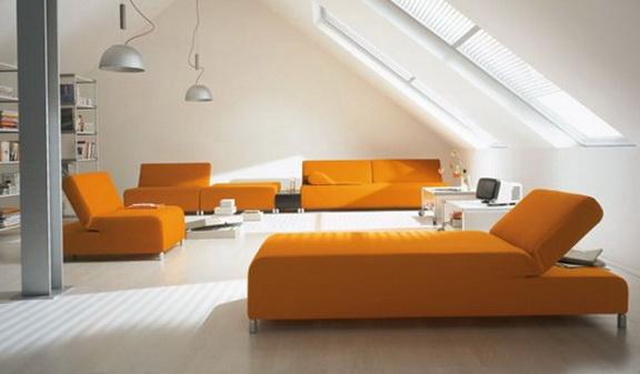 8-orange bed