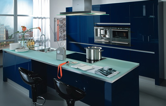 9-dark blue kitchen