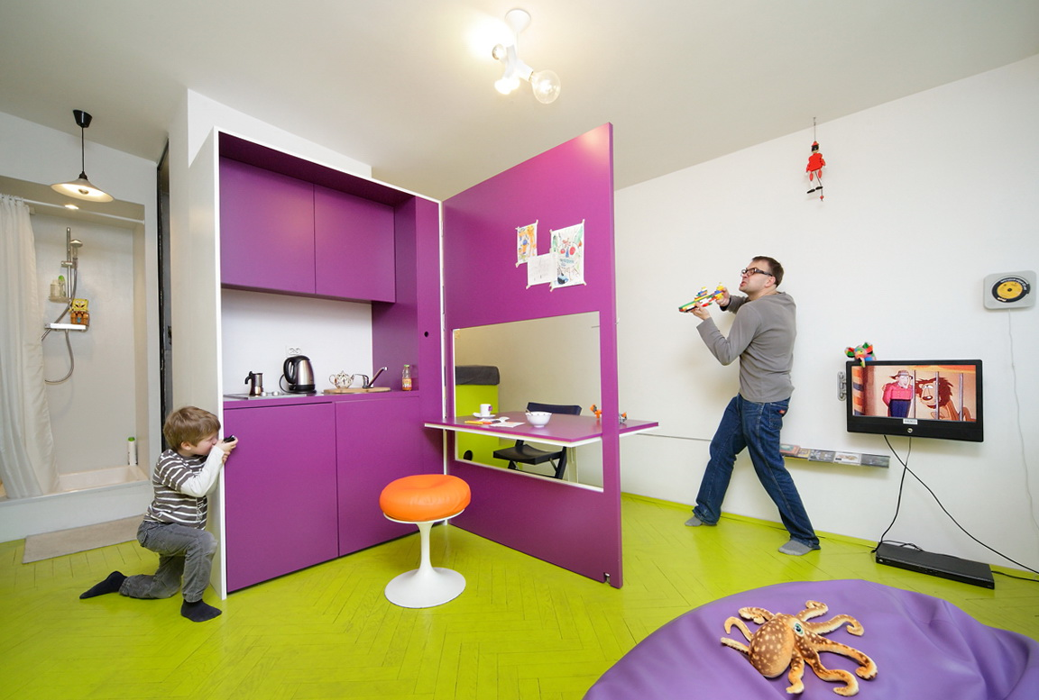 1-Compact apartment in Warsaw