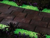 Glow in the Dark Gravel to Illuminate Any Exterior