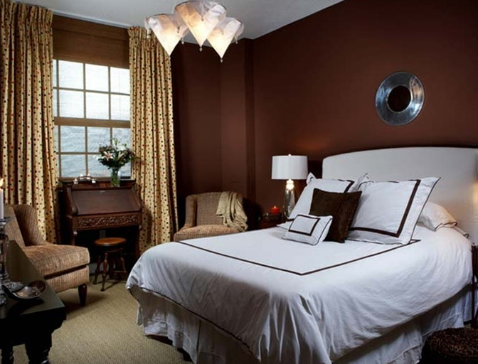 chocolate color bedroom ideas the bedroom in chocolate color home interior design 14816