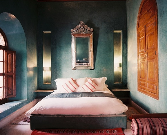1 The Bedroom In Moroccan Style