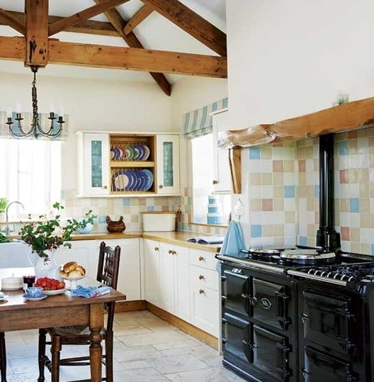 Kitchen Tiles Country Style