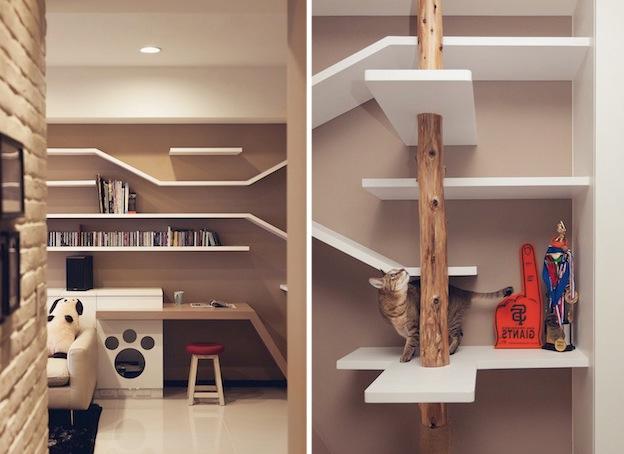 Creative Spaces Designed For Your Cat Home Interior Design