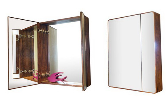 2-cabinet with mirror