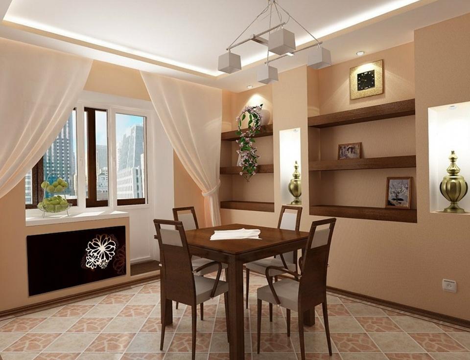 2-kitchen in brown