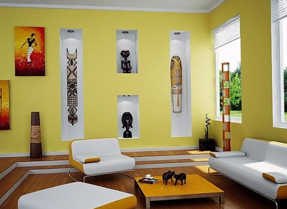 4-yellow Wall