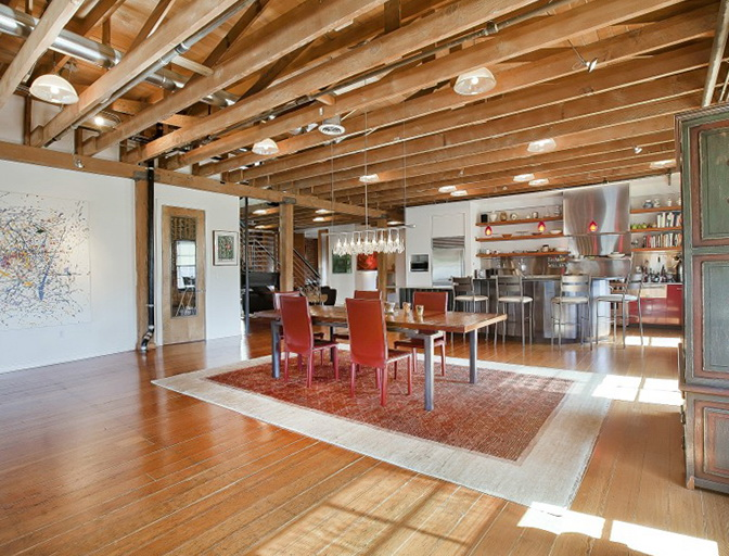 Beautiful loft in San Francisco  Home Interior Design, Kitchen and ...